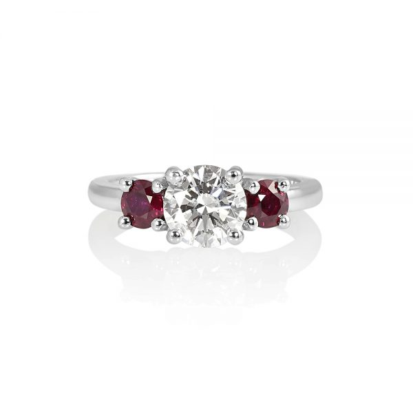 Rebecca Diamond and Ruby Engagement Ring-0