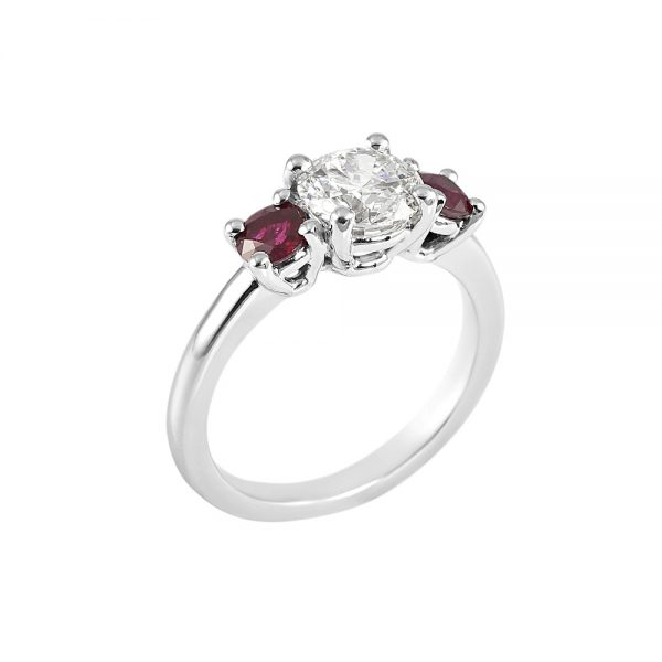 Rebecca Diamond and Ruby Engagement Ring-2013