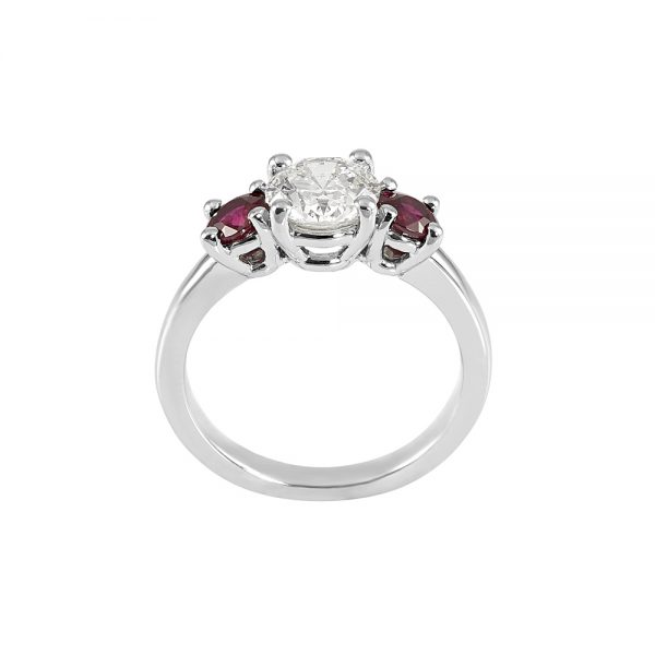 Rebecca Diamond and Ruby Engagement Ring-2012