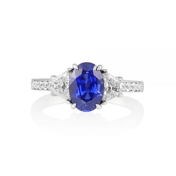 Audra Sapphire and Diamond Engagement Ring-0
