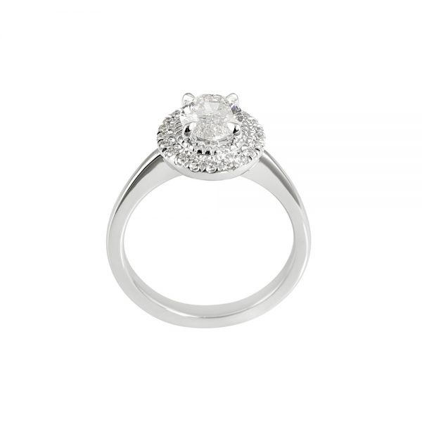 Brittany Oval Diamond Halo Engagement Ring-2048