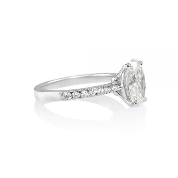 Juliana Oval Diamond Engagement Ring-2069