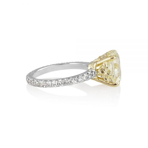 Tegan Fancy Yellow Diamond Engagement Ring-2066