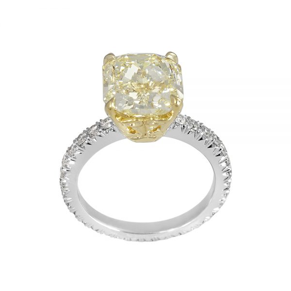 Tegan Fancy Yellow Diamond Engagement Ring-2065