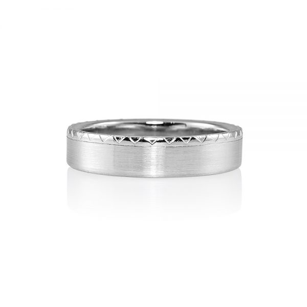 Christopher Men's Platinum Wedding Ring-0