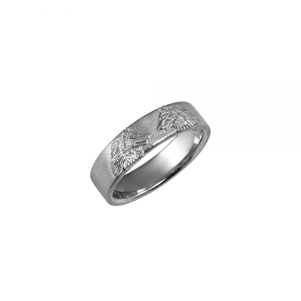 Men's Wolf Ring for Kevin-2091