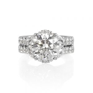 Brittany Glamorous Diamond Engagement Ring-0