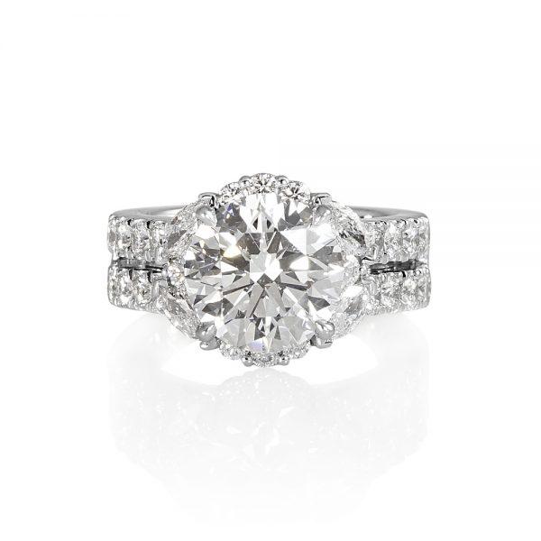 Brittany Glamorous Diamond Engagement Ring-0