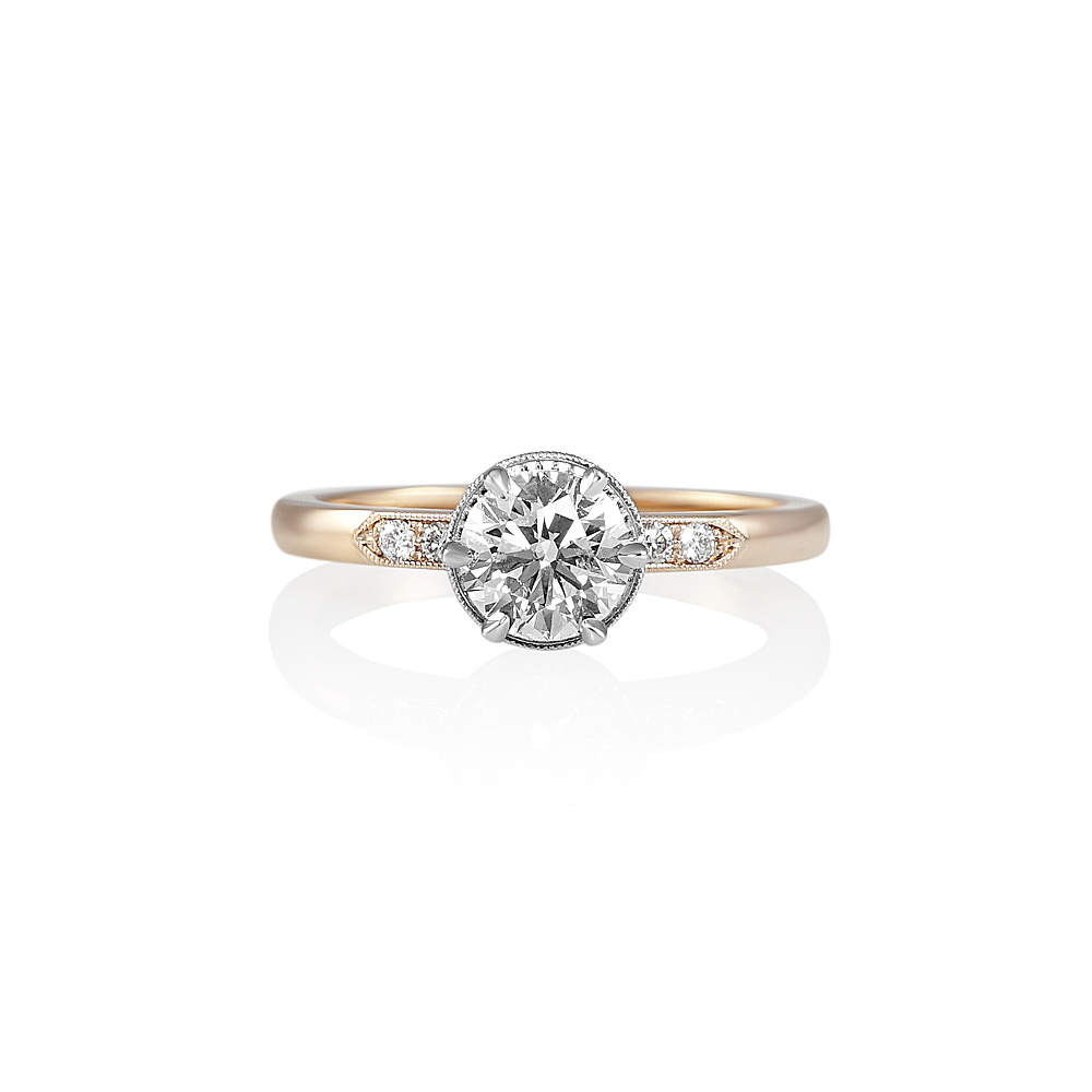 Cynthia Britt Gabi Rose Gold And Platinum Diamond. Maple Leaf Diamond. Diamond Eternity Bracelet. Diamond Certified. Men Gold Jewellery. Sloth Pendant. Icw Watches. Baby Name Chains. Little Engagement Rings
