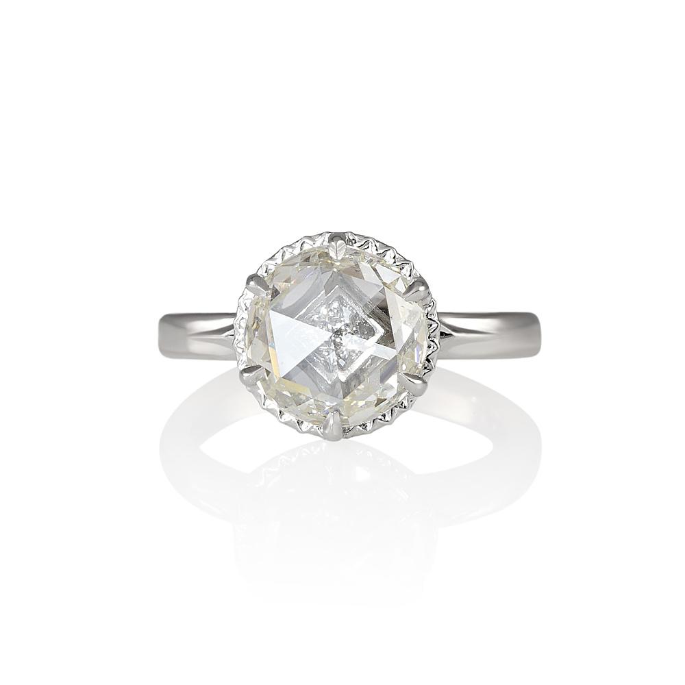 Lisa Rose Cut Engagement Ring  Cynthia Britt. Custom Silver Wedding Rings. Watch Rings. Stunning Engagement Rings. Valentines Wedding Rings. 2 Carat Cluster Diamond Engagement Rings. Gants Wedding Rings. 30 Carat Rings. Royal Wedding Rings