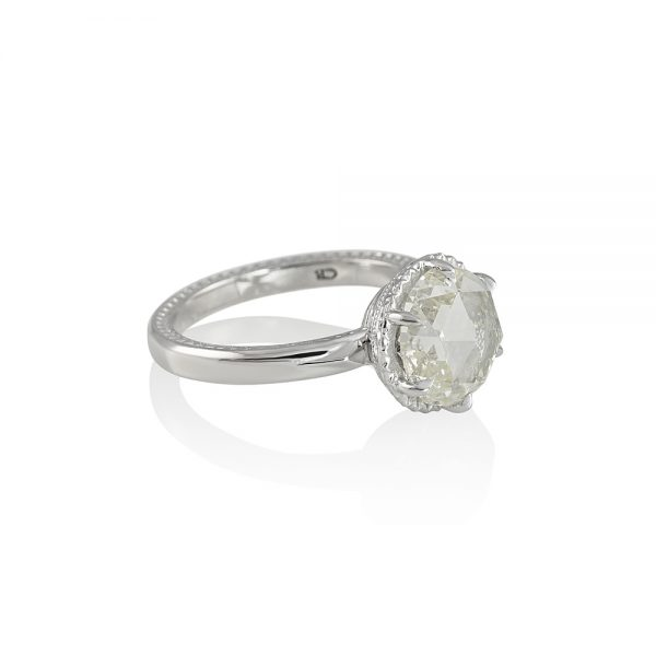Lisa Rose Cut Engagement Ring-2119