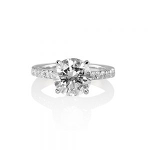 Namita Cathedral Setting Diamond Engagement Ring-0