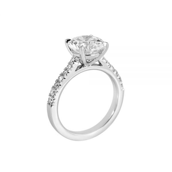 Namita Cathedral Setting Diamond Engagement Ring-2202
