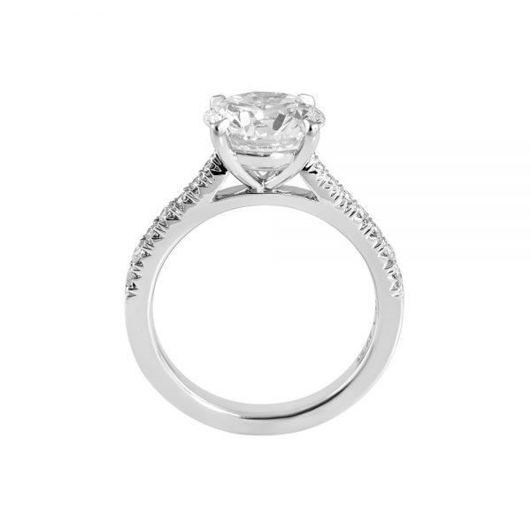 Namita Cathedral Setting Diamond Engagement Ring-2201
