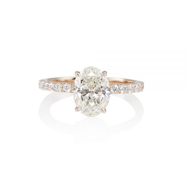 Taylor Oval Diamond Engagement Ring-0