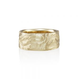 Yellow Gold Rock Ring for Andrew-0