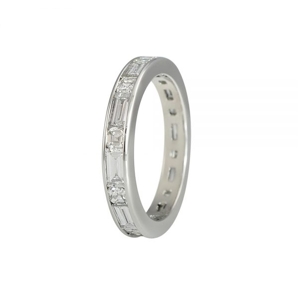 Baguette and Asscher Eternity Band for Averil-2319