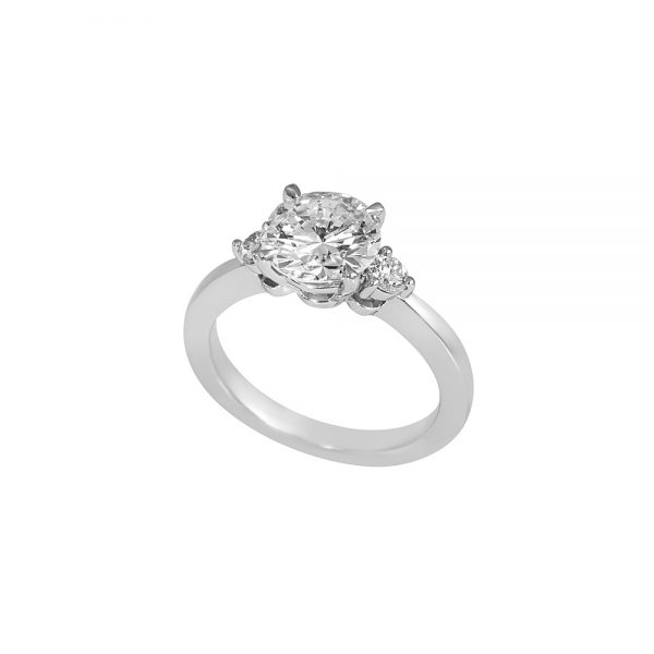 Three Stone Engagement Ring for Morgan-2268
