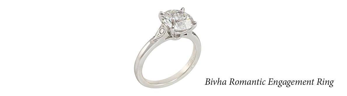 Bivha Romantic Engagement Ring
