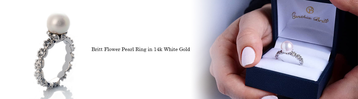 Britt Flower Pearl Ring Banner