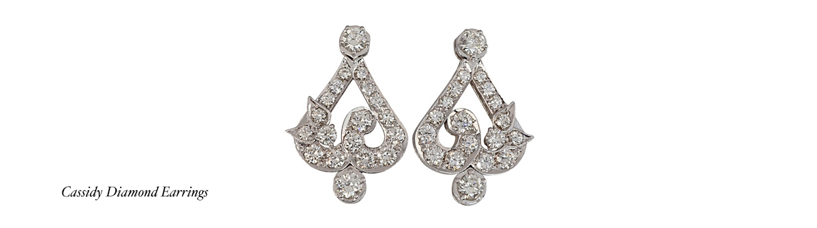 Cassidy Diamond Earrings