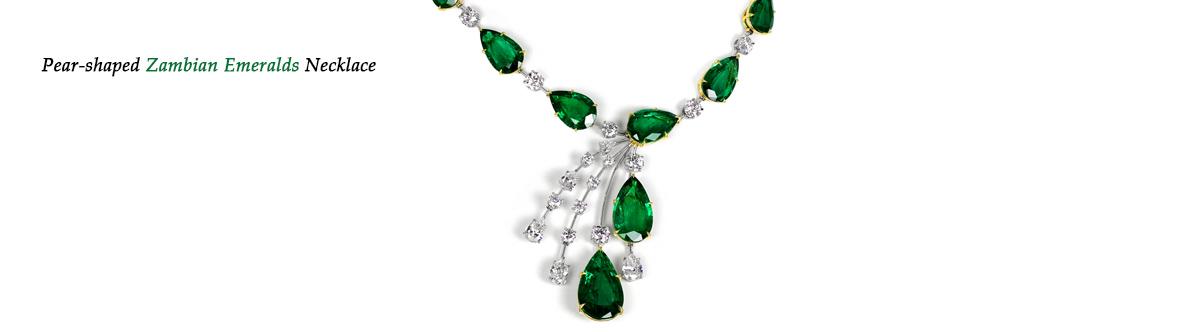 Zambian Emerald Necklace Banner