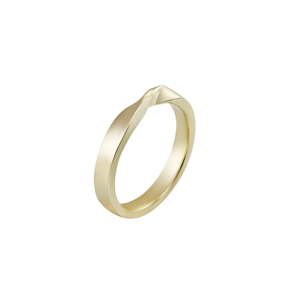 Cynthia Britt Mobius Womens Wedding Band