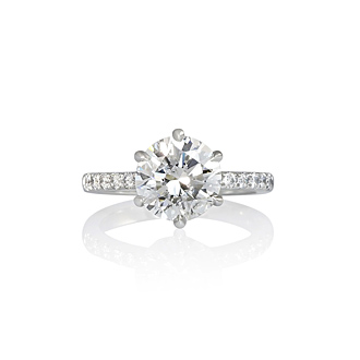 Signature CB Solitaire Engagement Ring™